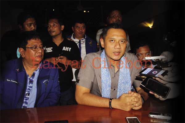 agus harimurti yudhoyono kunjungi cirebon