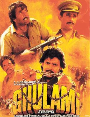 Ghulami 1985 Hindi 720p WEBRip 1.6GB