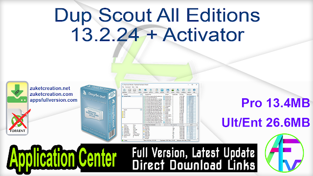 Dup Scout All Editions 13.2.24 + Activator