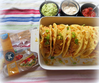 Chipotle Lime Chicken Flatbread Tacos