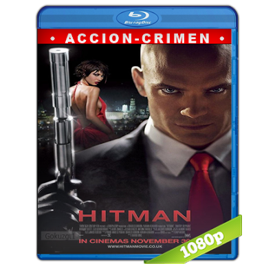 Hitman (2007) BRRip Full 1080p Audio Trial Latino-Castellano-Ingles 5.1