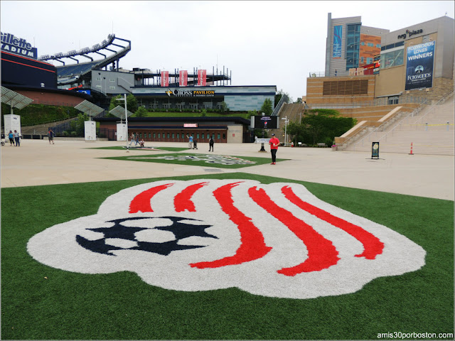 Patriots Place en Foxborough, Massachusetts