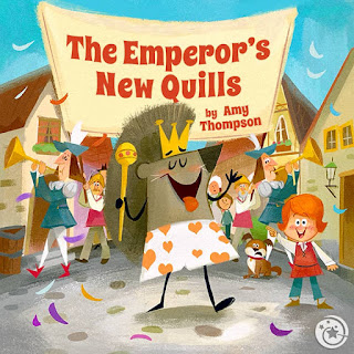 Dorktales Storytime Podcast EP7: The Emperor's New Quills by Amy Thompson