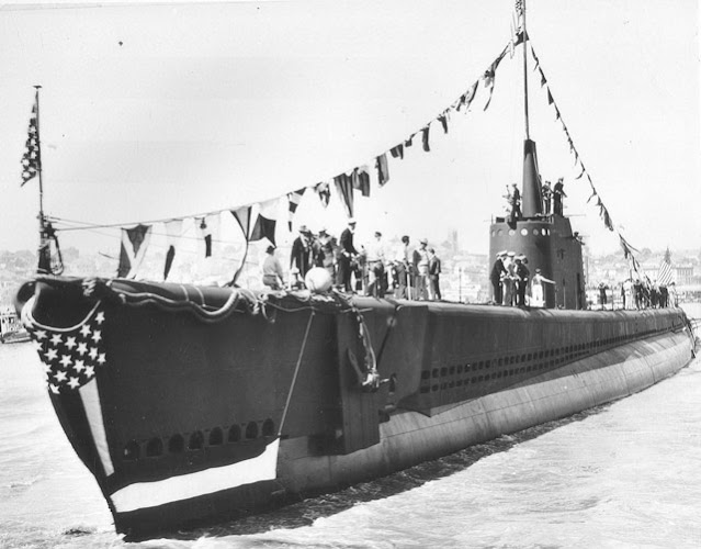 USS Sunfish is launched on 2 May 1942 worldwartwo.filminspector.com