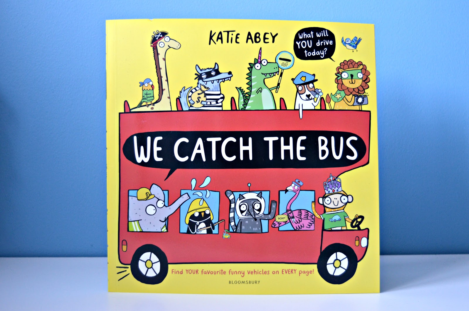 We catch the bus book