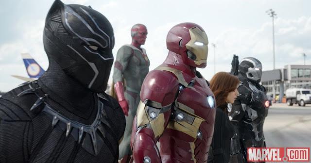 Imagens da Marvel