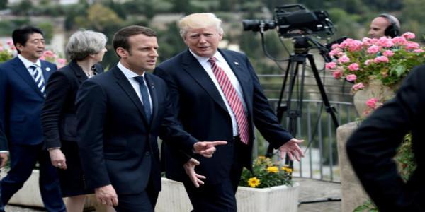 Ο Τραμπ στο Παρίσι