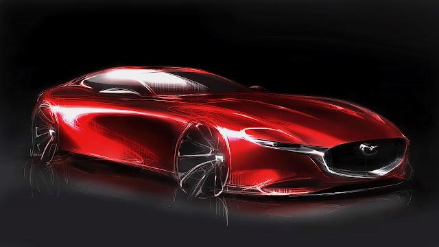 Mazda e il Kodo design di Ikuo Maeda - Mazda RX-Vision Concept.
