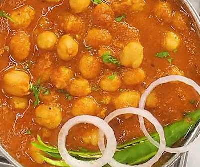 how to make chole at home