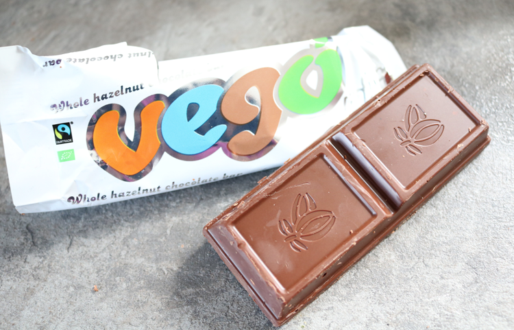Vego Mini Whole Hazelnut Chocolate Bar review