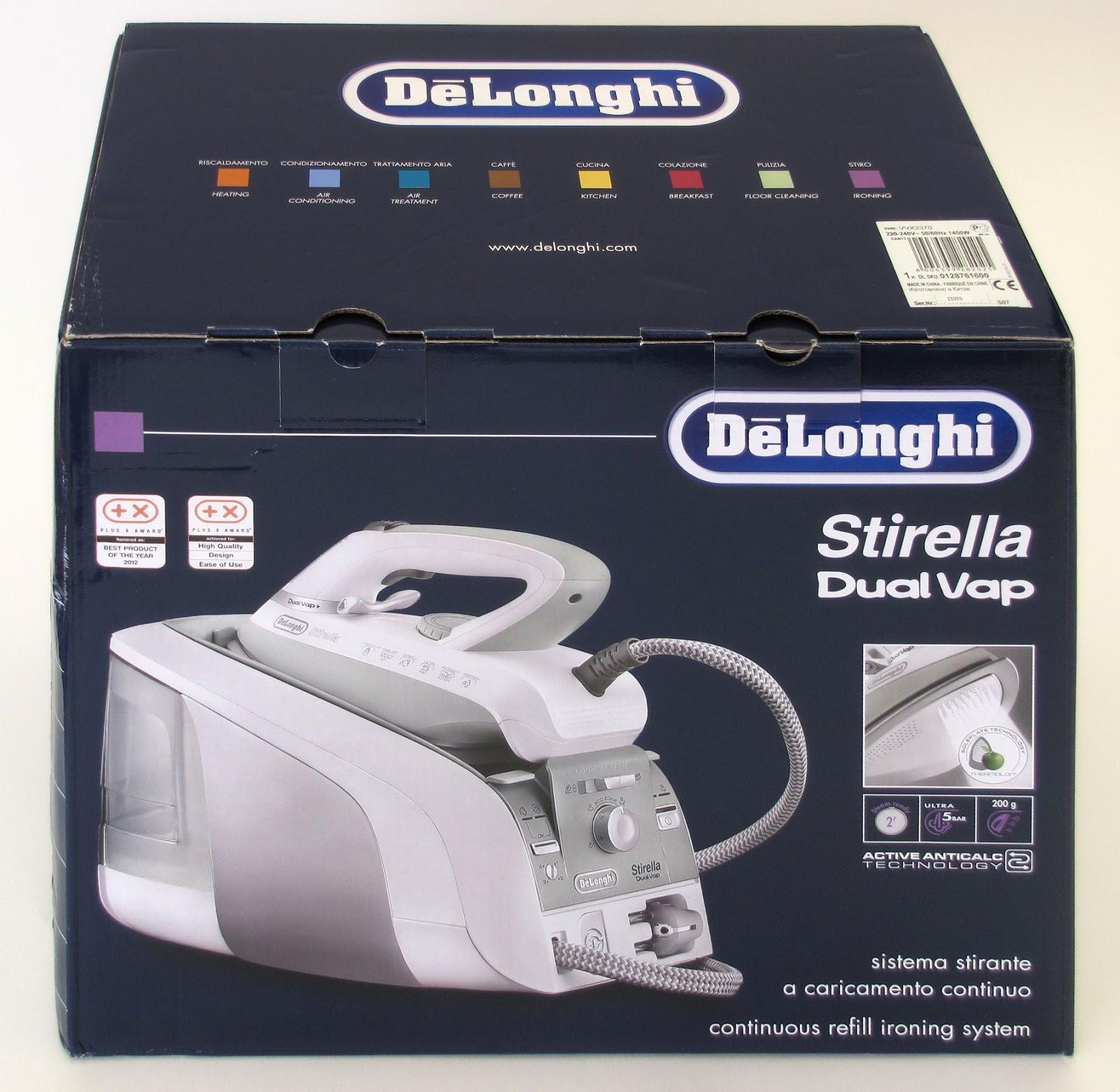 De Longhi Stirella VVX2370 DualVap, scatola