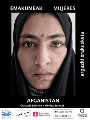 Las Carreras acogerá la exposición Mujeres. Afganistán