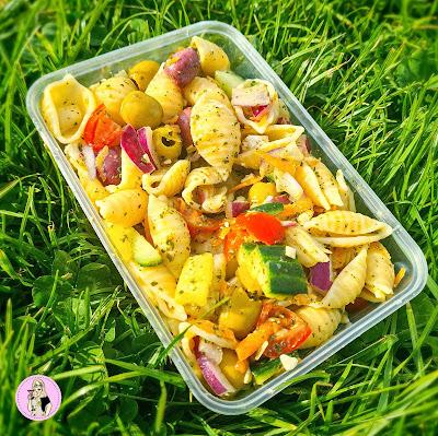 pasta salad recipe, low calorie recipe, low calorie meals, low calorie lunch, slimming food