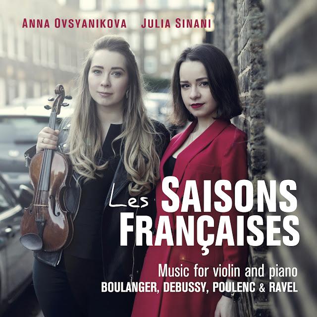 Les saisons Francaises - Anna Ovsynikova, Julia Sinani - Stone Records