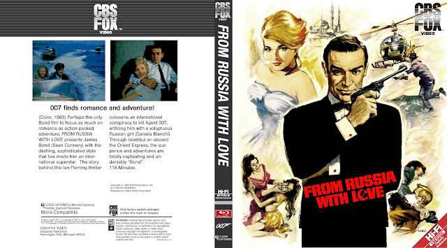 From Russia With Love Bluray Cover