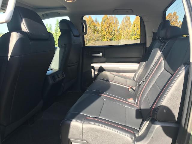 Interior view of 2020 Toyota Tundra TRD Pro CrewMax