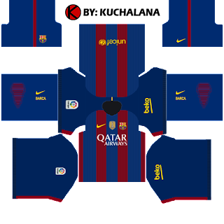brand new 59ce1 c7fe0 Barcelona Kits 2016/2017 - Dream League Soccer 2015 - Kuchalana
