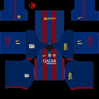 barcelona kits 2016 2017