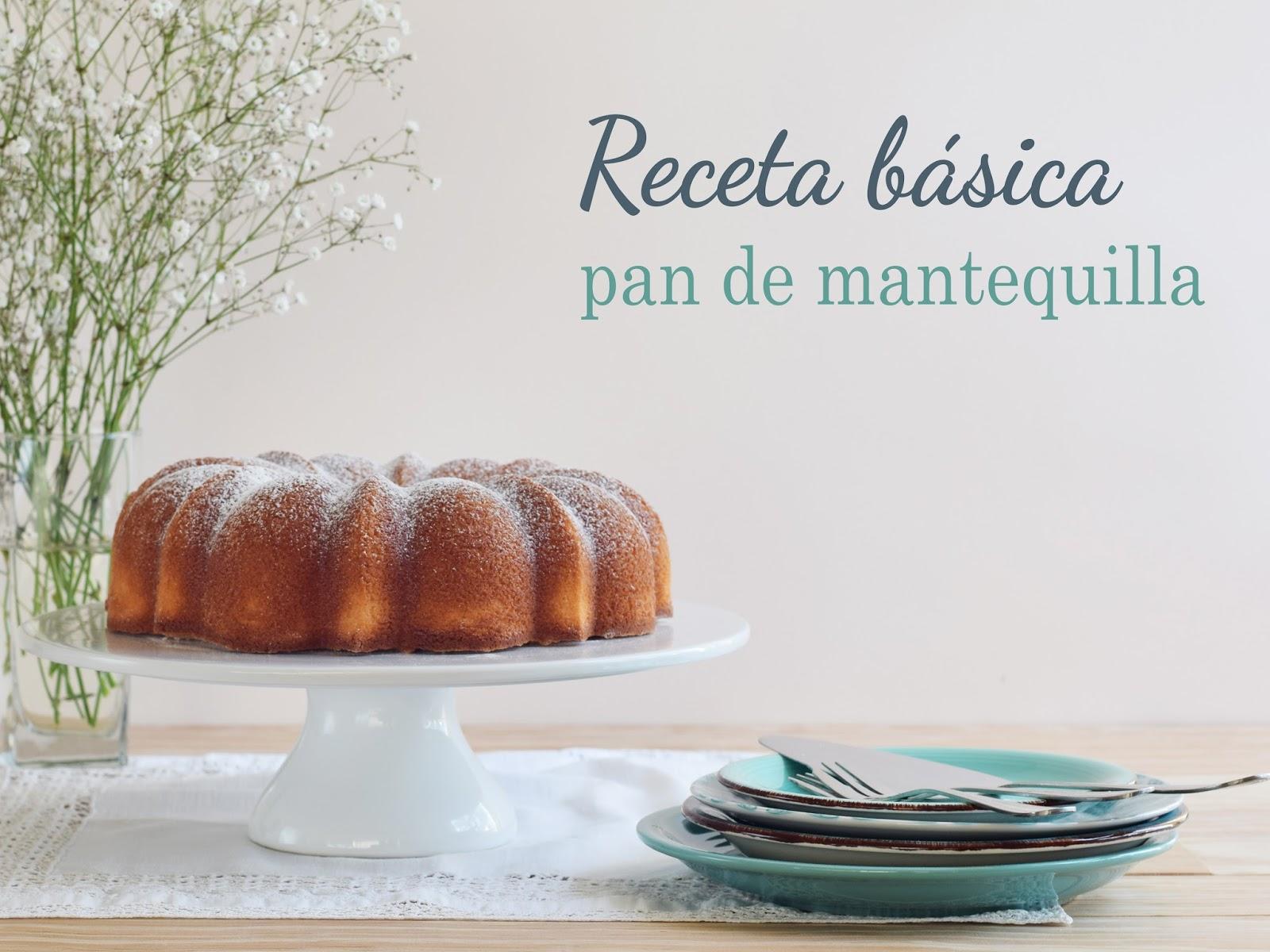 Receta de Pan de Mantequilla