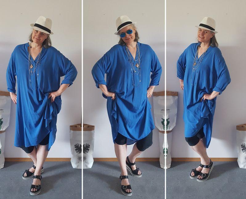 Oversized Hemdblusenkleid