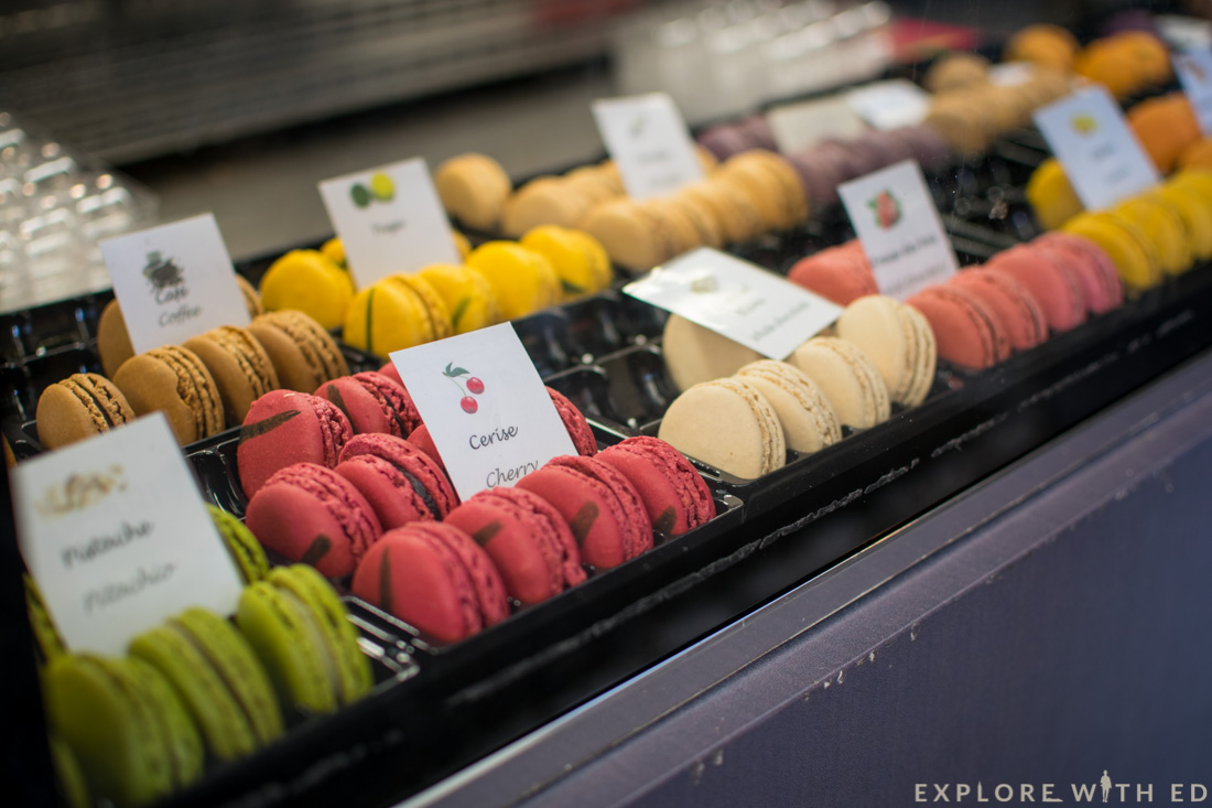 Macaroons in Saint Paul-de-Vence, France