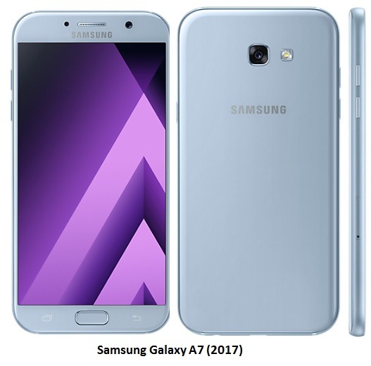 Samsung Galaxy A7 2017 clear photo