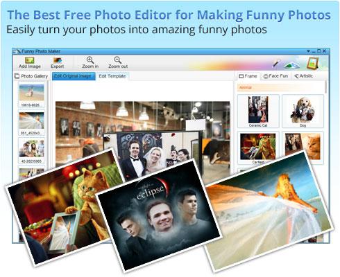 تحميل برنامج Funny Photo Maker Free لوضع اطارات و خلفيات للصور