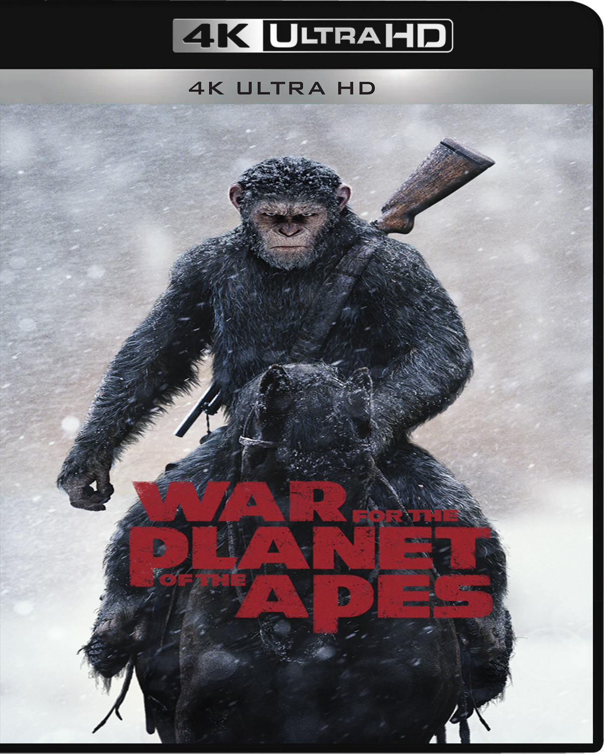 War for the Planet of the Apes [2017] [UHD] [2160p] [Latino – Castellano]