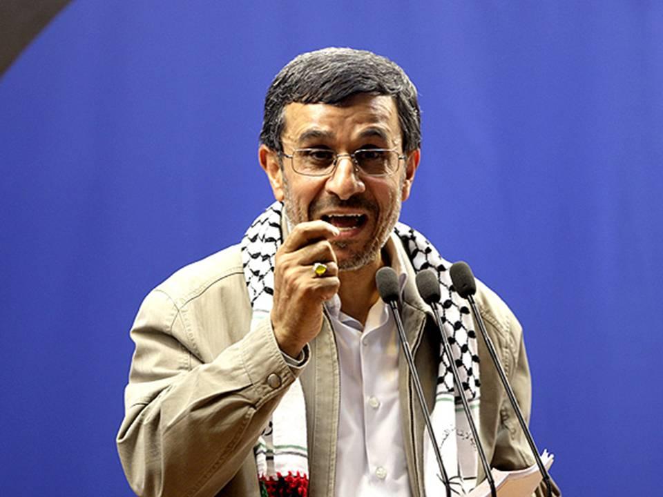 Presidente de Irán Mahmud Ahmadineyad