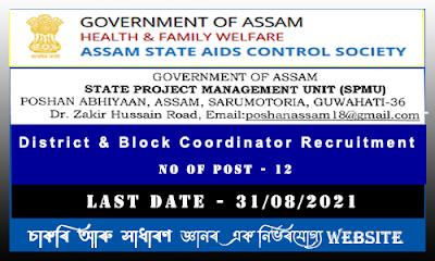 Social Welfare Recruitment 2021 - District and Block Coordinator Post