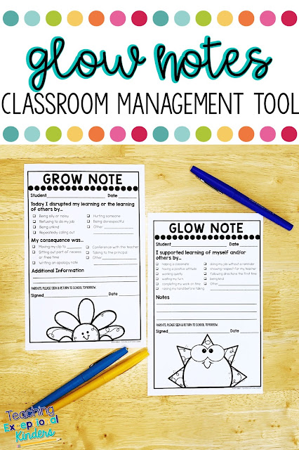 Learn how to use positive behavior notes to send home to parents to improve your classroom management and ditch the clip chart today!
