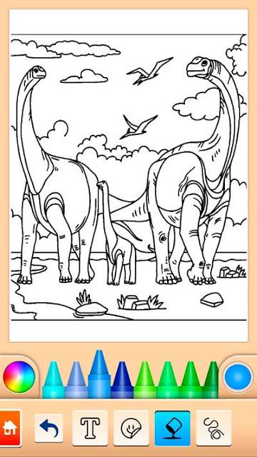 dinosaurio-juego-de-color-sin-internet