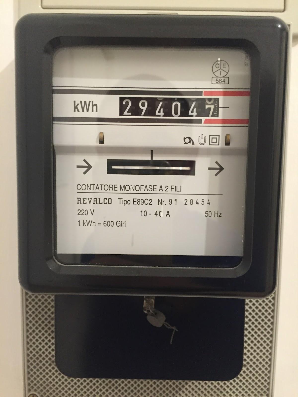 Derrick energia la misura dell 39 energia d268 9 - Contatore gas in casa ...