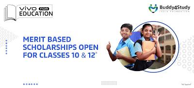 Vivo For Education Scholarship 2021-22   विवो ने निकाली छात्रवृत्ति मिलेंगे 10000 रुपए