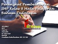 Perangkat Pembelajaran SMP Kelas 8 Mata Pelajaran Bahasa Indonesia