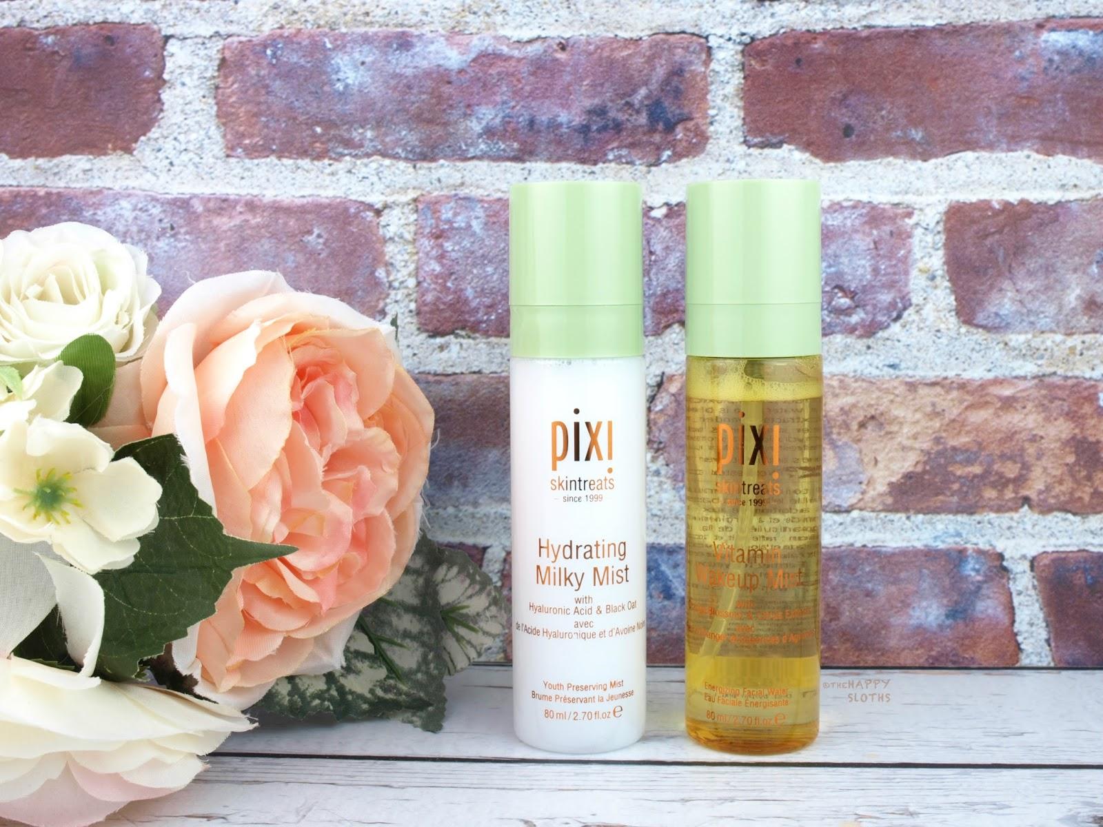 Pixi Skintreats | Hydrating Milky Mist & Vitamin Wakeup Mist: Review