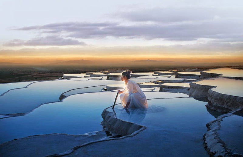 3. Pamukkale, Turkey - 5 of the Most Relaxing Natural Baths in The World