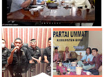Ketua Umum Partai Ummat Gelar Zoom Meeting Dengan DPW dan DPD se NTB