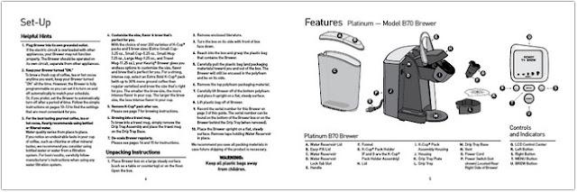 Keurig Coffee Maker Manual