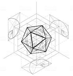 Diagram of Icosahedron
