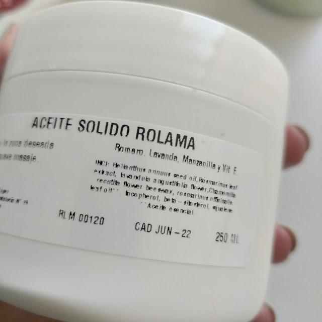 Aceite sólido de LUCIS NATURALIS 03