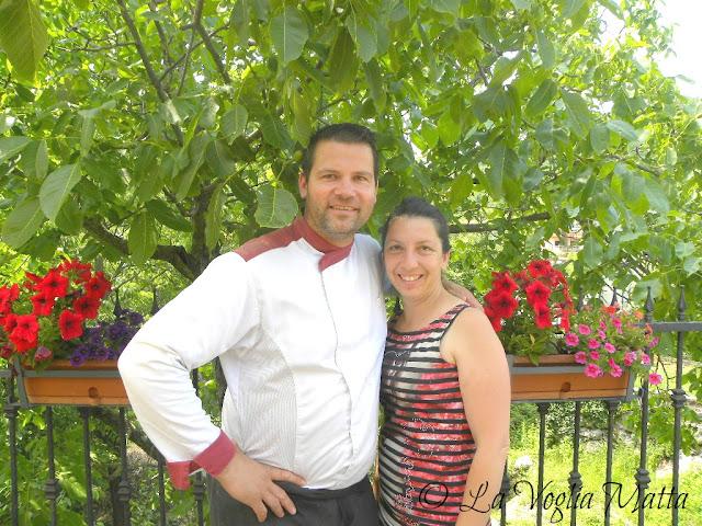 lo chef Vinko Frlan la moglie Danijela proprietari di Stancija Kovačići a Mattuglie in Istria