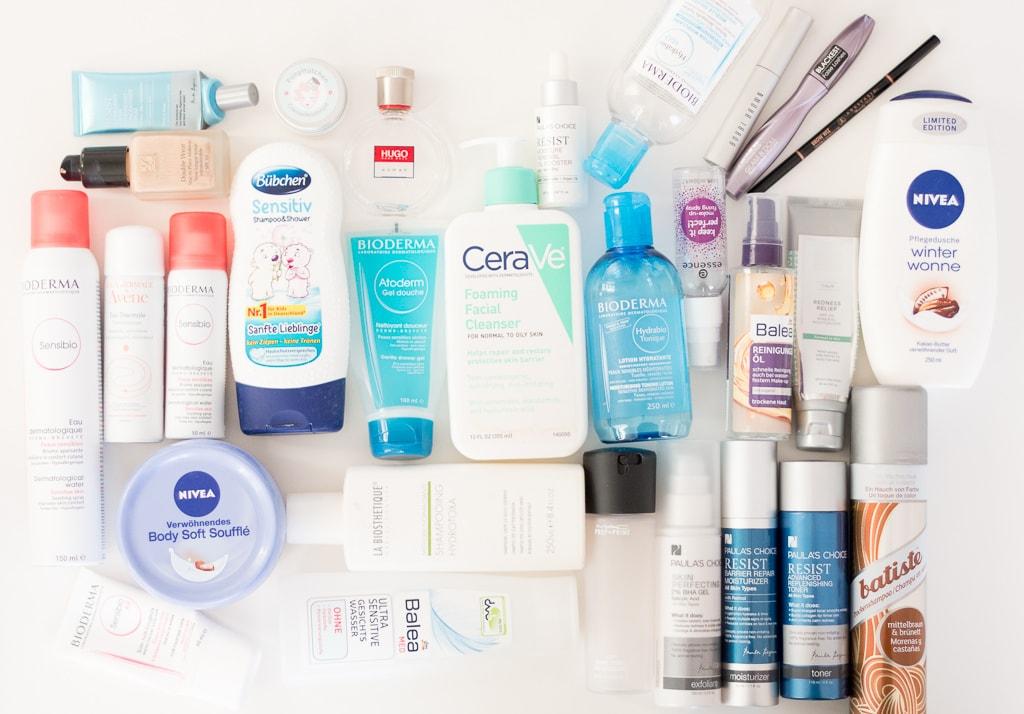 Aufgebrauchte Kosmetikprodukte Februar 2017