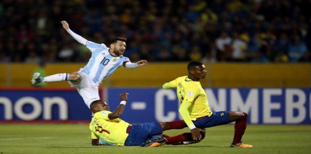 مشاهدة مباراة الارجنتين والاكوادور