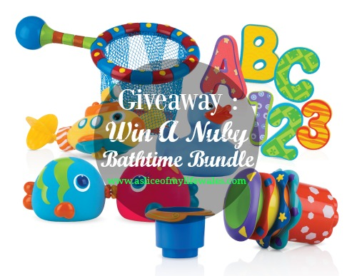 enter here for the chance to win a bathtime bundle set for your toddler from Nuby UK - entry is quick, free and easy via a simple rafflecopter form