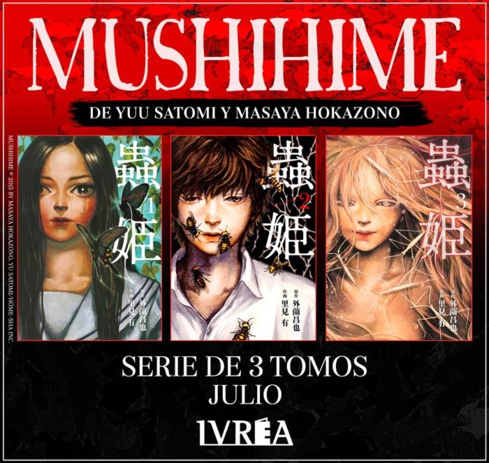 Mushihime manga - Yuu Satomi y Masaya Hokazono - Ivrea