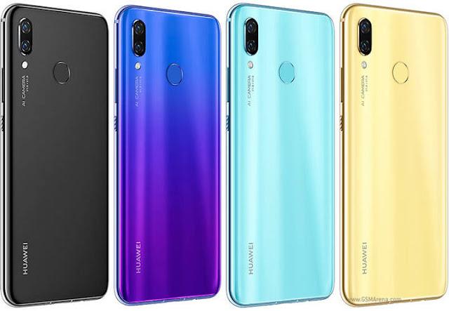 مواصفات وسعر هاتف   Huawei nova 3 على مصر زووم