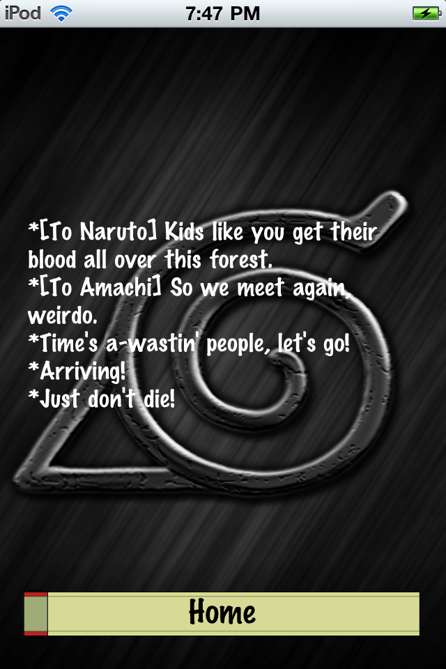 Anime: Naruto Quotes