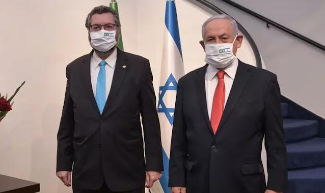 Israel recebe comitiva do Brasil para cooperar com vacinas e remédios contra Covid-19