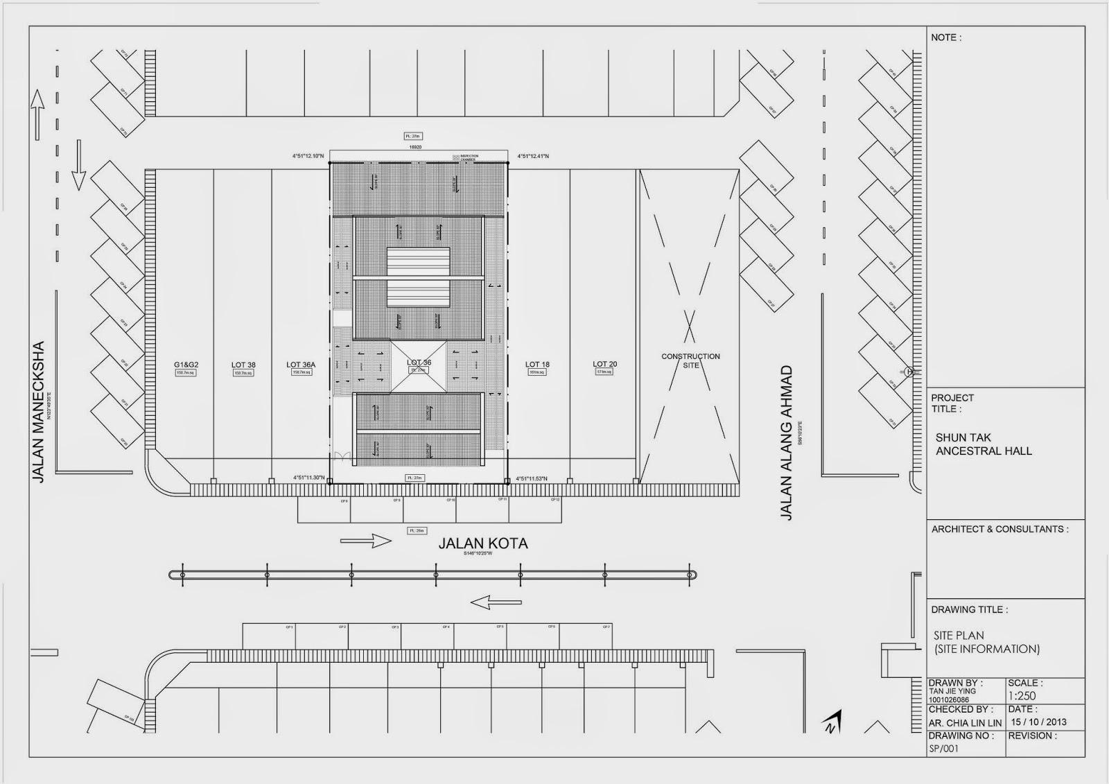 Jie Ying's Portfolio: Re-vitalizing STA Ancestral Hall